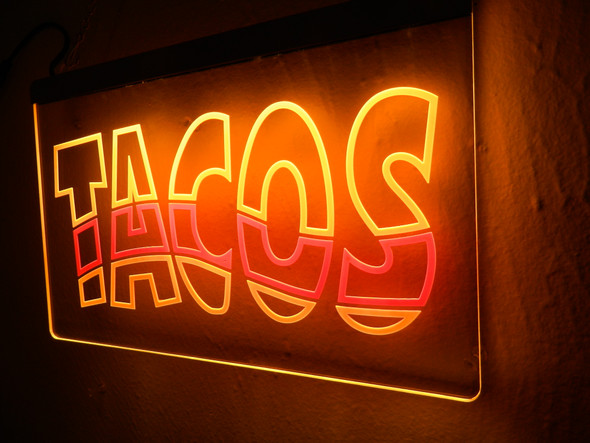 Tacos LED Sign