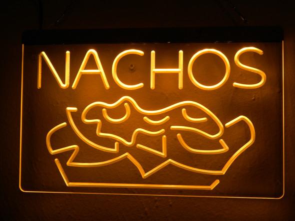 Custom Nachos Acrylic LED Sign