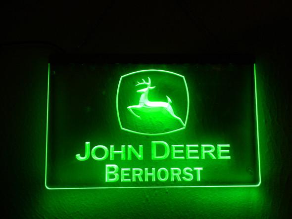 """Your Name"" Custom John Deere Acrylic LED Sign"
