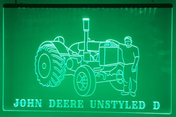 Custom Your Farm Equipment Acrylic LED Sign - Upload your image