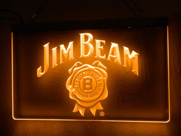 Jim Beam Acrylic LED Sign