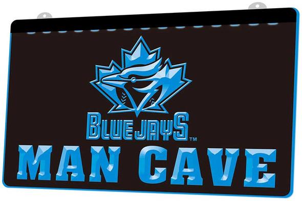Toronto Blue Jays Man Cave Acrylic LED Sign