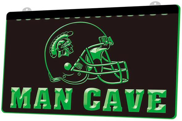 USC Trojans Man Cave Acrylic LED Sign