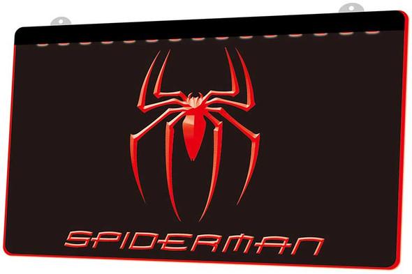 Spiderman Acrylic LED Sign