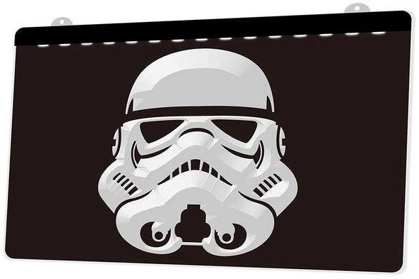 Star Wars Storm Trooper Acrylic LED Sign