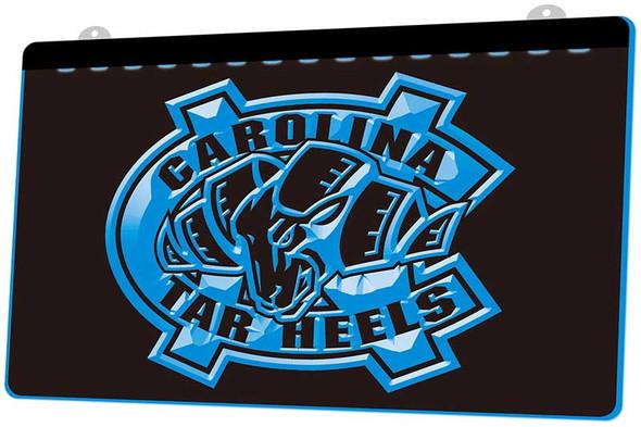 North Carolina Tar Heels Acrylic LED Sign