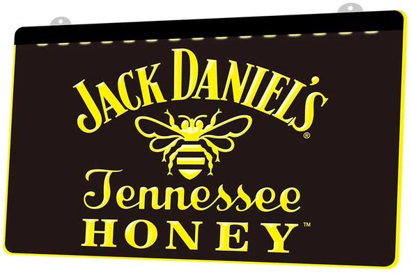 Jack Daniels Tennessee Honey Acrylic LED Sign