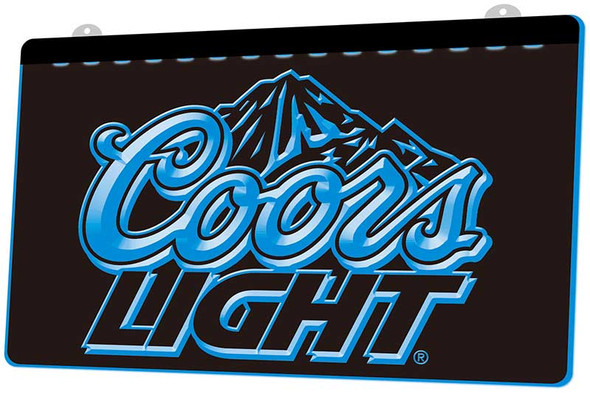 Coors Light Acrylic LED Sign