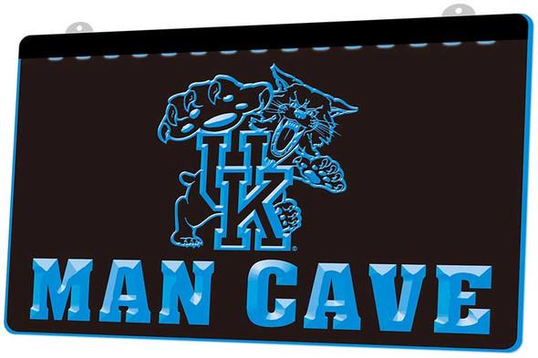 University of Kentucky Man Cave Acrylic LED Sign