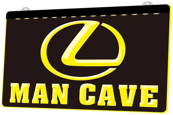 Lexus Man Cave Acrylic LED Sign