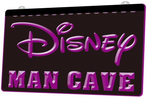 Disney Man Cave Acrylic LED Sign