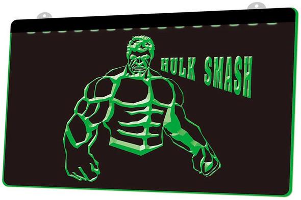 Incredible Hulk Acrylic LED Sign