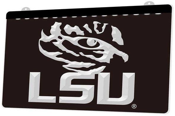 LSU Tigers Acrylic LED Sign