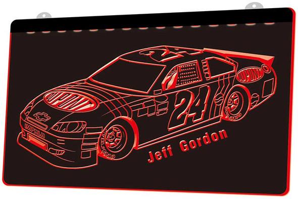 Jeff Gordon Acrylic LED Sign