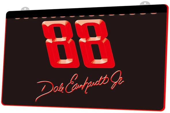 Dale Earnhardt Jr. Acrylic LED Sign