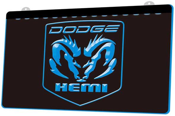 Dodge Hemi Acrylic LED Sign