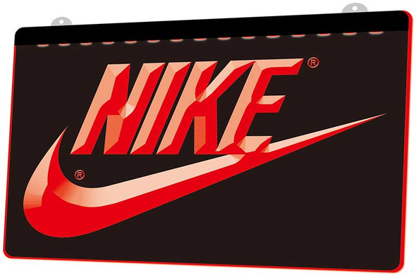 Nike Acrylic LED Sign