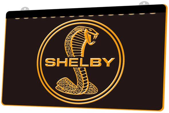 Shelby Cobra Acrylic LED Sign