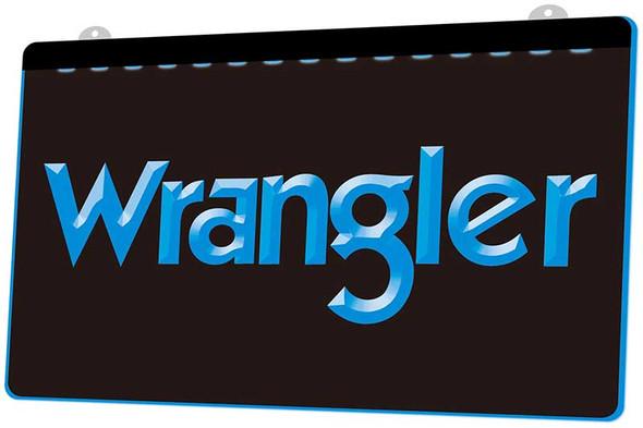 Wrangler Acrylic LED Sign