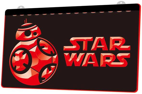 Star Wars Acrylic LED Sign