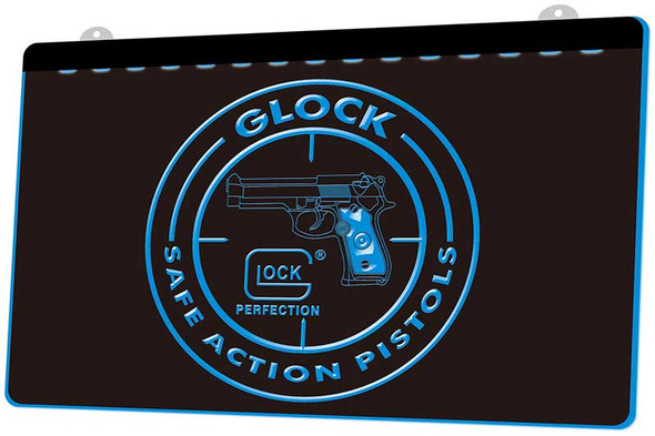 Glock Acrylic LED Sign