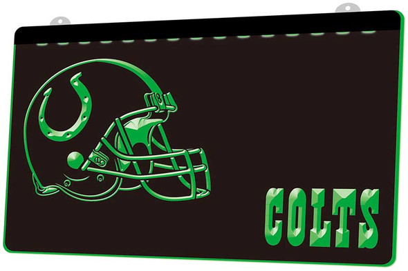 Indianapolis Colts Acrylic LED Sign
