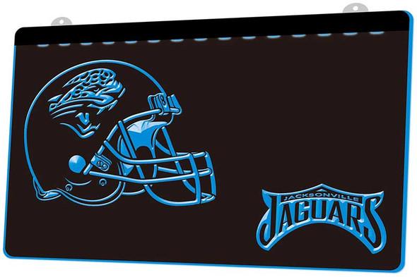 Jacksonville Jaguars Acrylic LED Sign