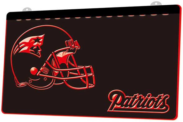New England Patriots Acrylic LED Sign