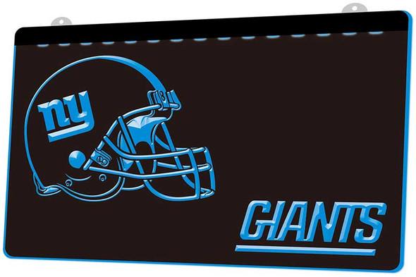 New York Giants Acrylic LED Sign
