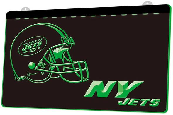 New York Jets Acrylic LED Sign