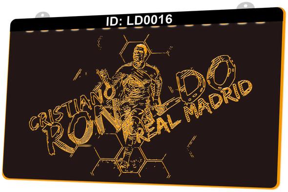 Real Madrid Ronaldo Acrylic LED Sign