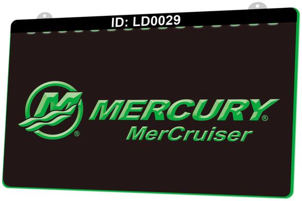 Mercury MerCruiser Acrylic LED Sign