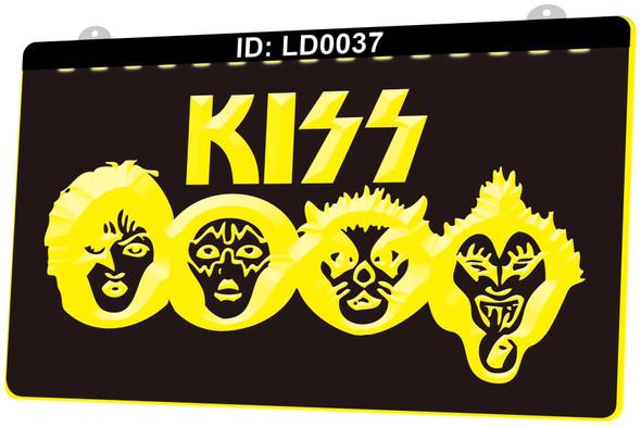 KISS Acrylic LED Sign