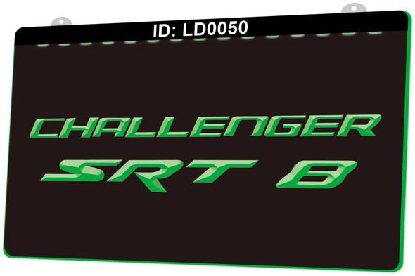 Challenger SRT 8 Acrylic LED Sign