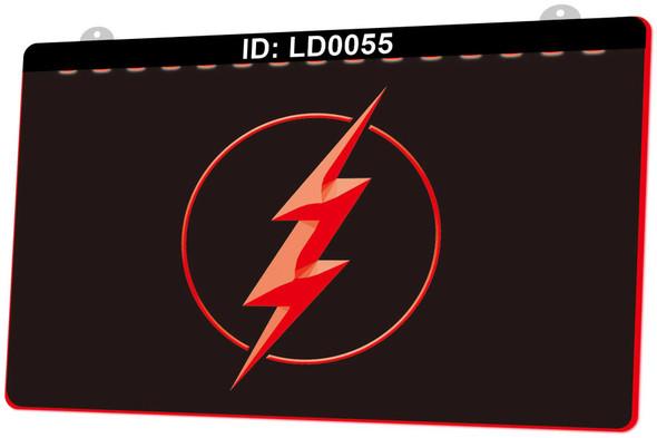 The Flash Acrylic LED Sign