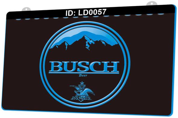 Busch Acrylic LED Sign