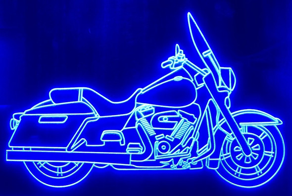 Single Color Acrylic LED Sign of Your Bike