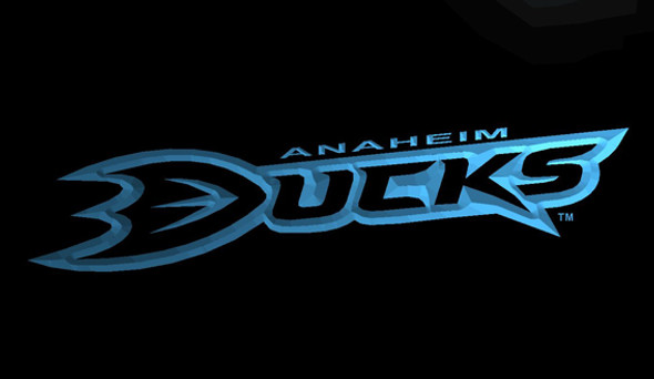 Anaheim Mighty Ducks Acrylic LED Sign