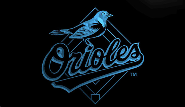 Baltimore Orioles Acrylic LED Sign