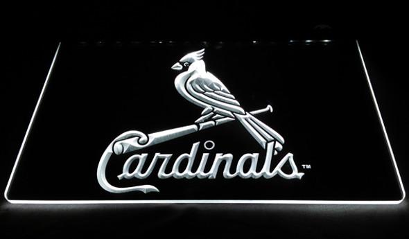 St. Louis Cardinals Acrylic LED Sign Option 1