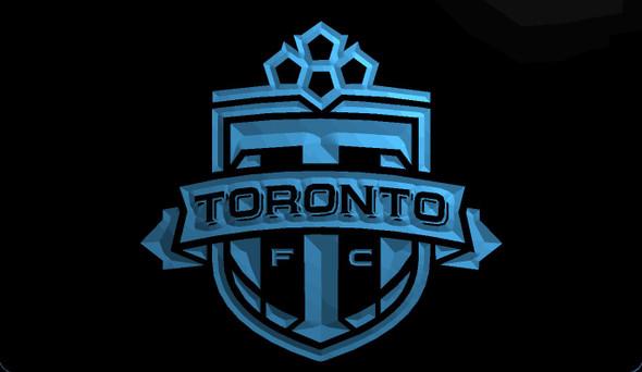 Toronto FC Acrylic LED Sign