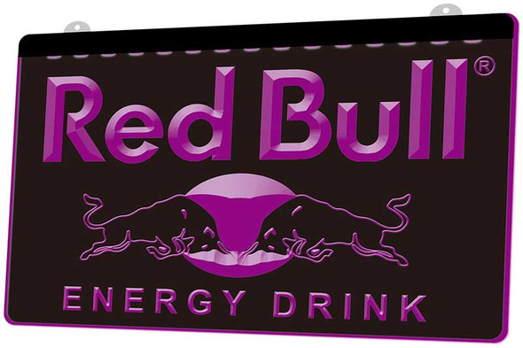 Red Bull Acrylic LED Sign