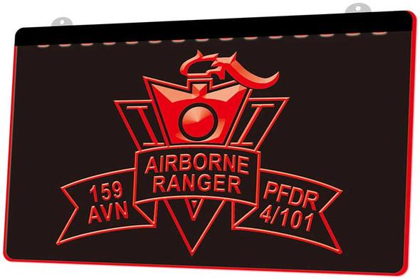 Airborne Ranger Acrylic LED Sign