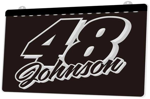 Jimmy Johnson Acrylic LED Sign