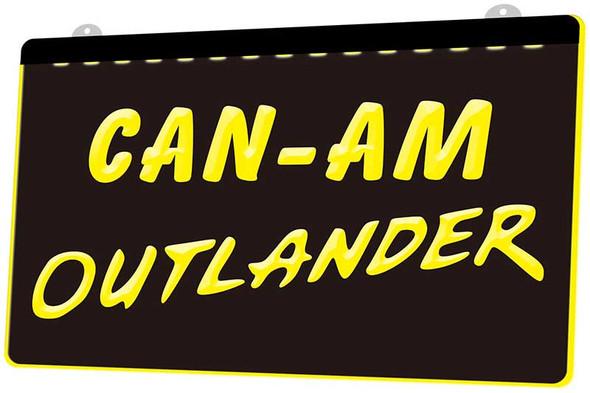 Can-Am Outlander Acrylic LED Sign