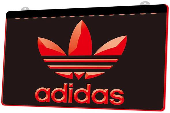 Adidas Acrylic LED Sign