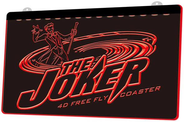 The Joker Acrylic LED Sign Option 1
