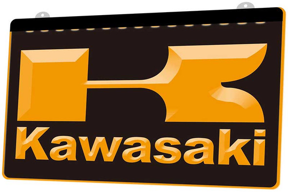 Kawasaki Acrylic LED Sign