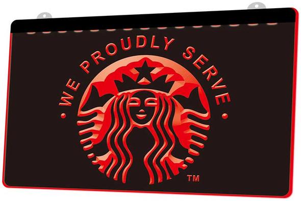 Starbucks Acrylic LED Sign