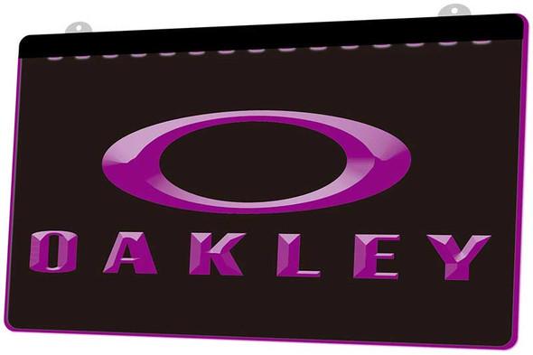Oakley Acrylic LED Sign